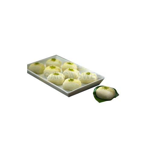 Ganga Sweets Sweets - Pineapple Cham Cham - 1000Gm, 1 kg