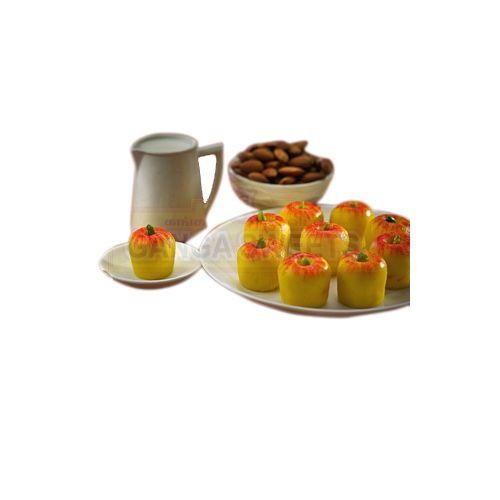 Ganga Sweets Sweets - Milk Apple - 500Gm, 500 g