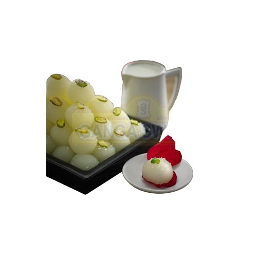 Ganga Sweets Sweets - White Strawberry - 500Gm, 500 g