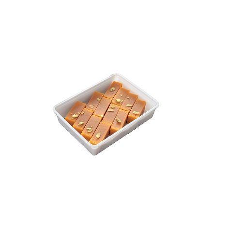 Nithya Amirtham Sweets - Carrot Mysore Paa, 500 gm Plastic Box