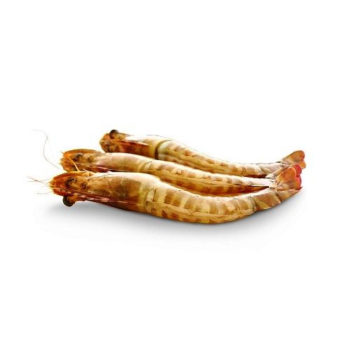 Fish & Chicken  Shopee Prawn - White Shrimp (Erral) - Big, 500 g With Tail Cleaned