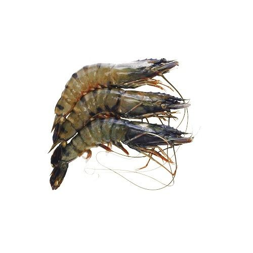 Fish & Chicken  Shopee Prawn - Tiger Prawn, 1 kg With Tail Cleaned
