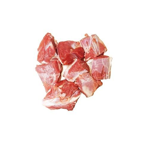 Fish & Chicken  Shopee Mutton - Boneless, 500 g Small Cut Cleaned