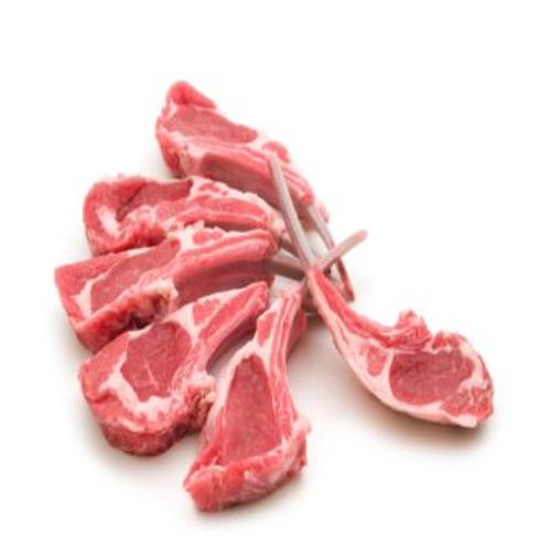 Fish & Chicken  Shopee Mutton - Rib Chops, 500 g
