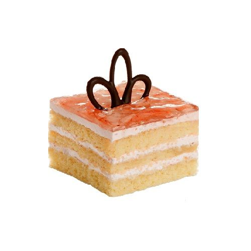 French Loaf Cake - Strawberry Fantasy Pastry - 3pcs, 80 g