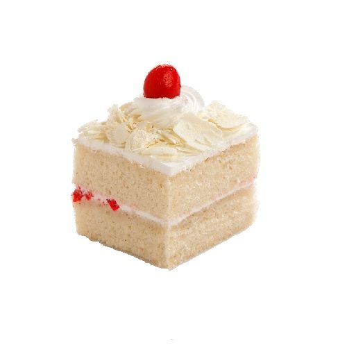 French Loaf Cake - White Forest Pastry - 3 pcs, 80 g