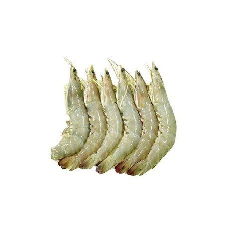 Test Fish O' Fish Prawn - White prawn - Vellai Eral, 1 kg Gravy cut Cleaned