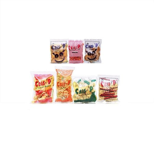 Cris-P Snacks - Banana Wafers + Nool Sev + Flyers + Masala Peanuts + Chennai Thattai + Mixture + Tapico Wafers, 800 g 100+100+100+100+100+100+200 gm