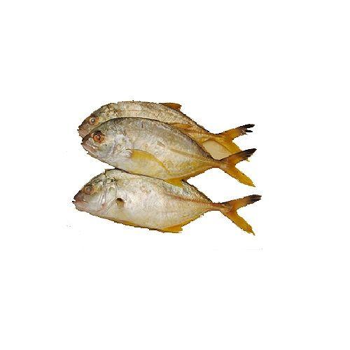 Jk Fish Fish - Trevally Fish - Parai - 1kg, 1 kg Fry Cut Cleaned