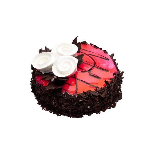 Oven Fresh Fresh Cakes - Choco Strawberry, Eggless, 500 g
