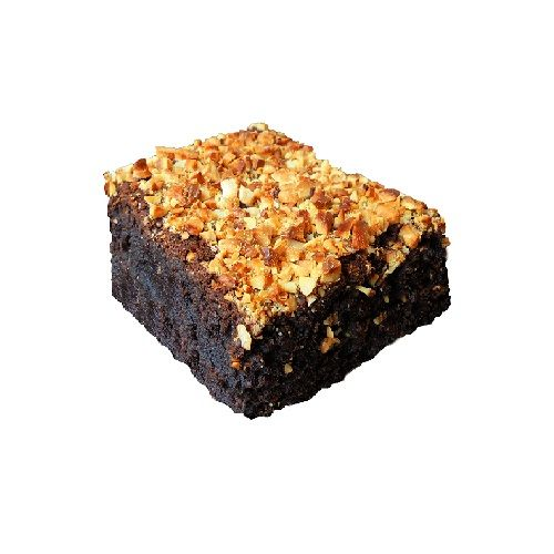 Brownie Heaven Brownie - Rum N Roasted Nuts, 2 pcs