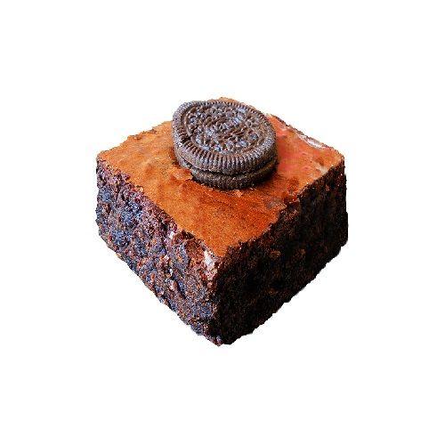Brownie Heaven Brownie - Eggless Oreo, 2 pcs