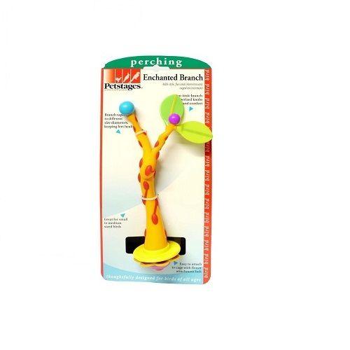 Petstages Pet Care Accessories - Enchanted Branch Bird, 100 g