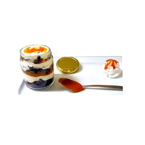 Cafe Adoniya Cake - Salted Choco Caramel Jar, No Pre Mix, 250 g