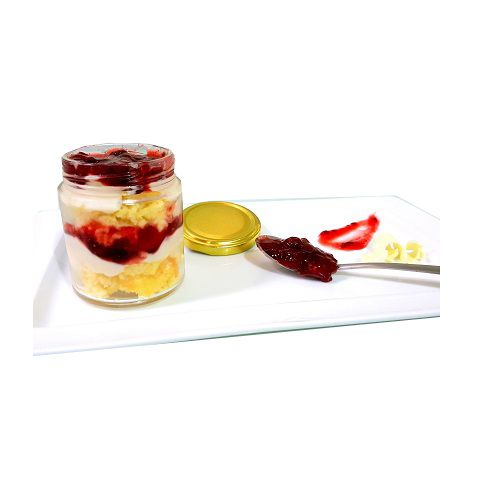 Cafe Adoniya Cake - Raspberry White Chocolate Jar, No Pre Mix, 250 g