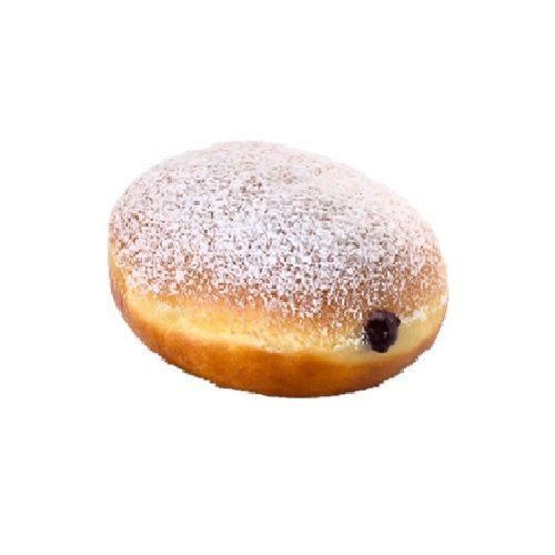 Krispy Kreme Doughnuts Donut - Powdered Bluberry Filled, 2 pcs