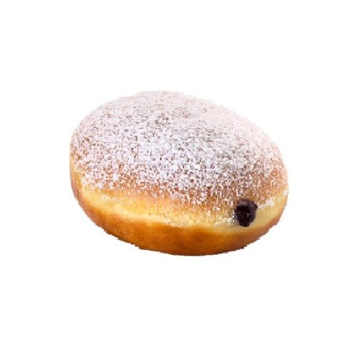Krispy Kreme Doughnuts Doughnut - Powdered Bluberry Filled, 12 pcs Pack of 1