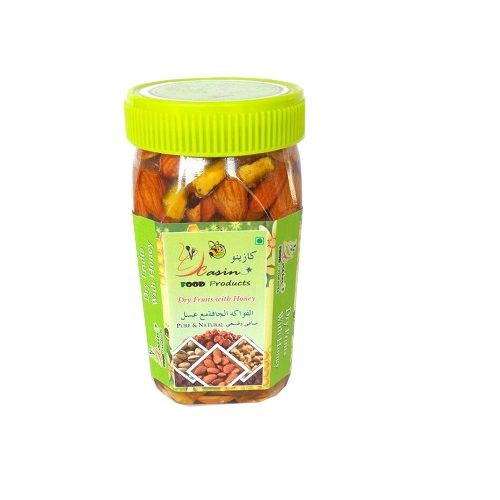 Pistachios Dry Fruits - Dry Fruits With Honey Jar, 500 g