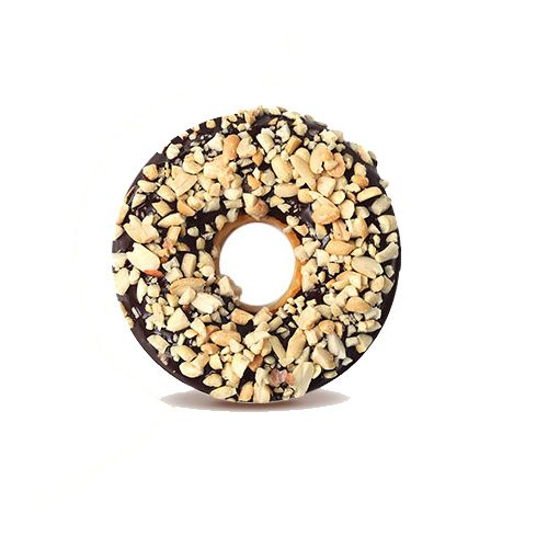 DONUT HOUSE Donut - Choco Nutty, 3 pcs