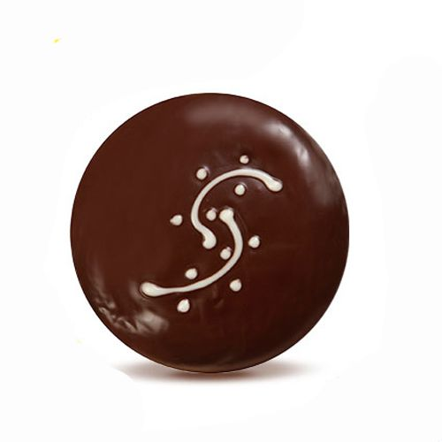 DONUT HOUSE Donut -  Raspberry Dark Chocolate, 3 pcs