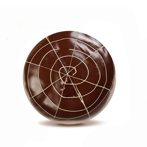DONUT HOUSE Donut -  Vanilla with Dark Chocolate, 3 pcs