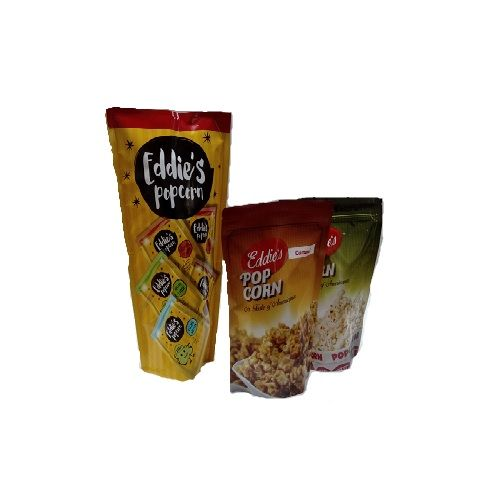 Eddies's Popcorn - Guntur Chilli & Caramel, 150 g Multipack
