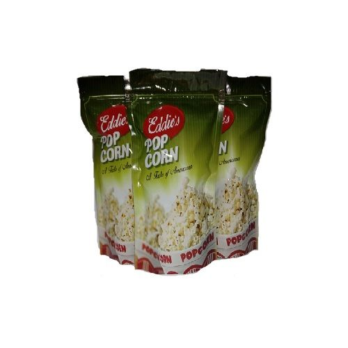 Eddies's Popcorn - Guntur Chilli & Butter Salt & Crunchy Corn, 150 g Multipack
