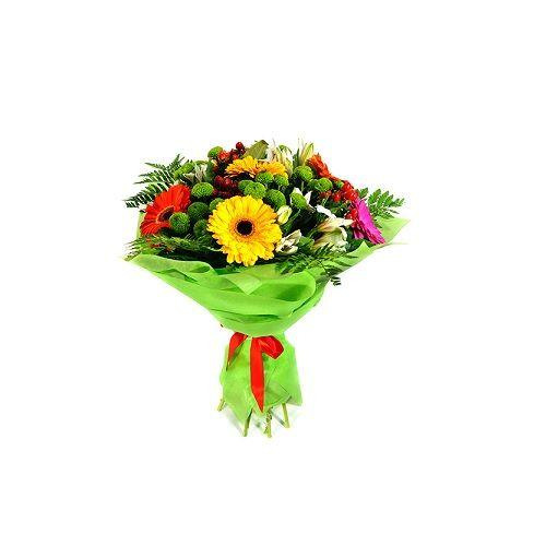 Blooms & Bouquets Flower Bouquet - Green Meadow, 1 pc
