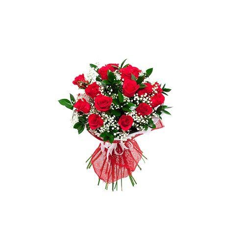 Blooms & Bouquets Flower Bouquet - Red Romance, 1 pc