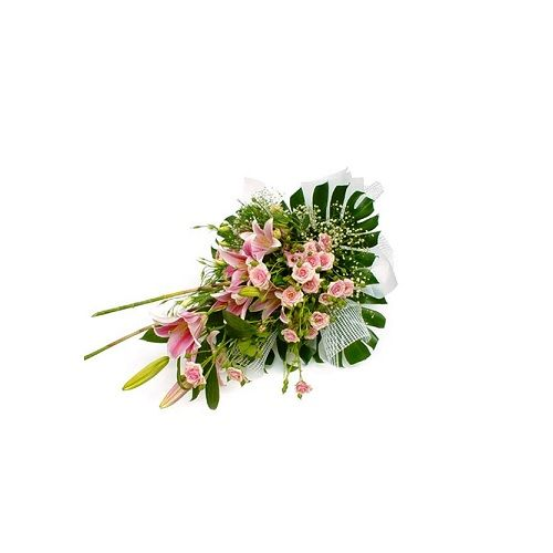 Blooms & Bouquets Flower Bouquet - Pink Beauty, 1 pc