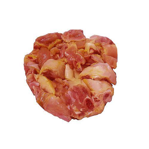 Tamilnadu mutton and chicken  Chicken - Country, Skinless (Nattu Kozhi), 1 kg Medium Cut Cleaned