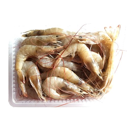 Crazy Fish Fish - Eral / Prawn Big, 1 kg Gravy Cut Cleaned