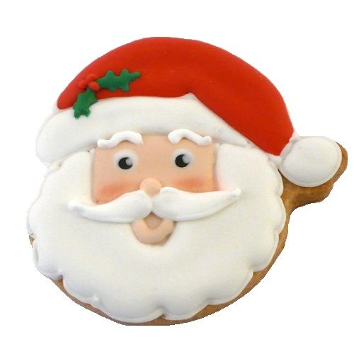 Birdy's Cake - Santa Face Photo, Small, 500 g box
