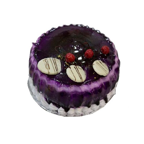Cake R Us Fresh Cake - Blueberry, 500 g box