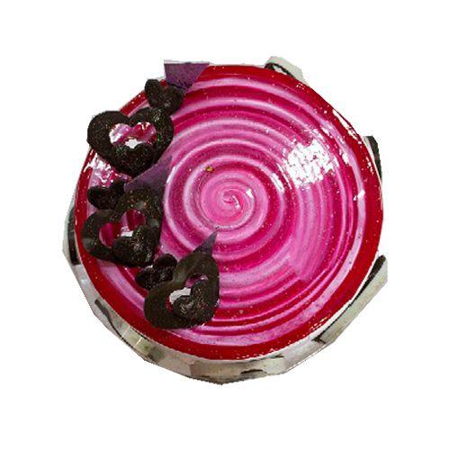 Cake R Us Fresh Cake - Strawberry, 500 g box
