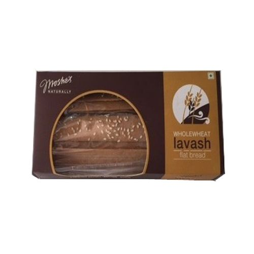 Moshe's Cookies - Whole Wheat Lavash Flat Bread Loafs, 100 gm Pack of 2