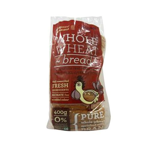 Moshe's Bread - 100% Whole Wheat, 400 g Pack of 2