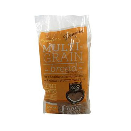 Moshe's Bread - Multi Grain Loaf, 400 g Pack of 2