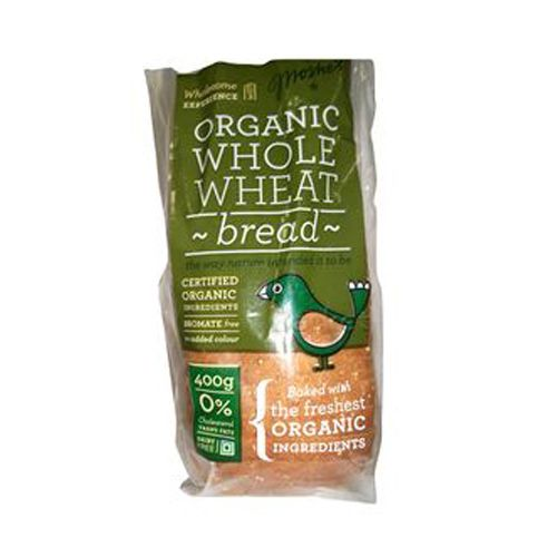 Moshe's Bread - Organic Whole Wheat Loaf (2 Pcs In Pack ), 400 g Pack of 2