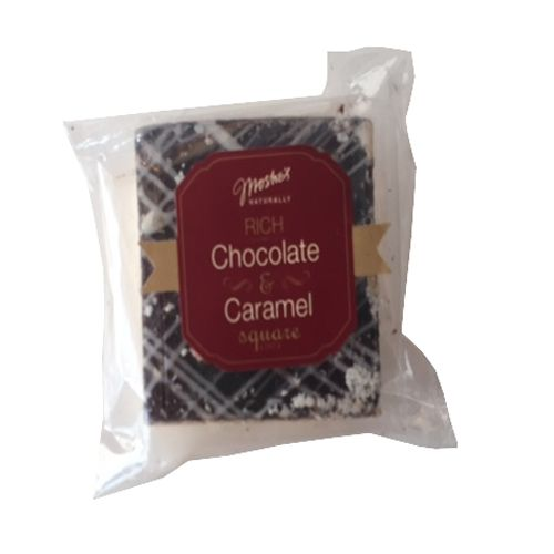 Moshe's Brownie - Chocolate Caramel Squares, 75 g Pack of 2