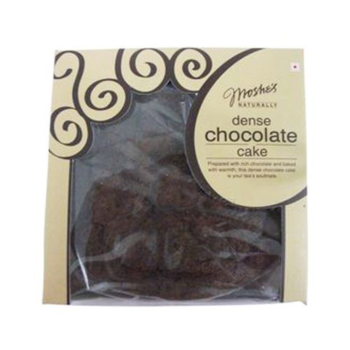 Moshe's Cake - Dense Chocolate (Eggless), 500 gm