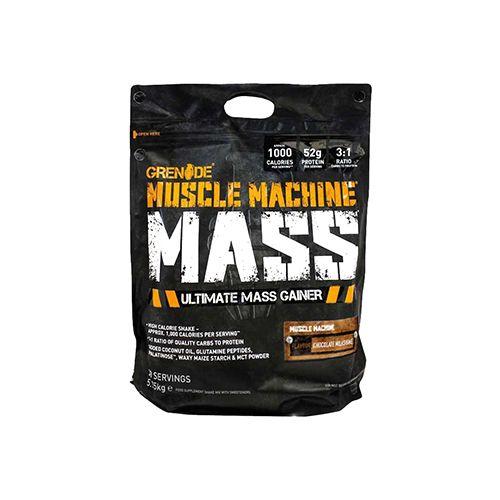 Grenade Muscle Machine Mass - Choco, 126 lbs