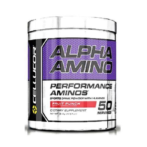 Cellucor Alpha Amino - Fruit Punch, 50 servings