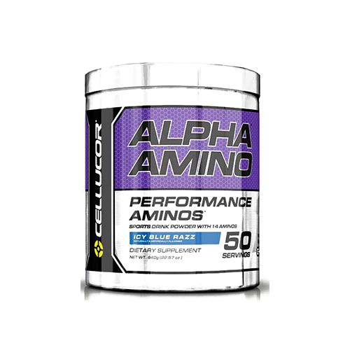 Cellucor Alpha Amino - Blue Raspberry, 50 servings
