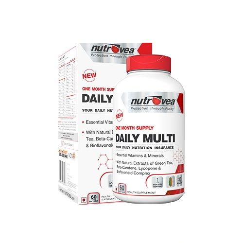 NUTROVEA Daily Multi - Your Daily Nutritional Insurance, 60 softgels