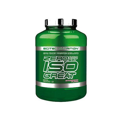 SCITEC Zero Iso - Great, Strawberry, 900 g