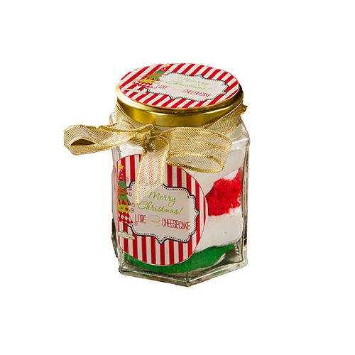 Poetry by love and Cheese Cake Cake - Jingle Bell Jar, 1 pc