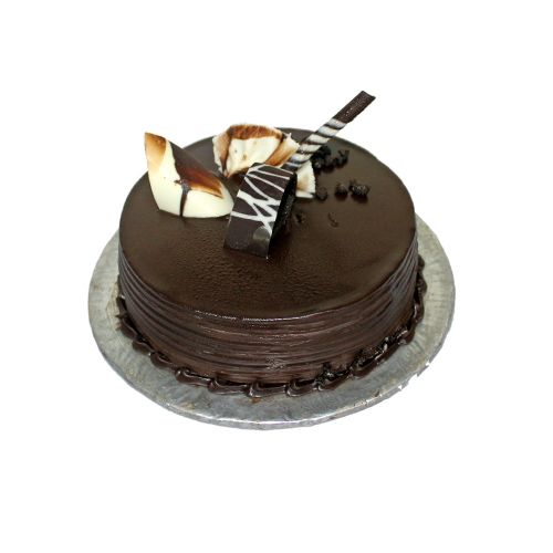 Cake Bright Fresh Cake - Chocolate Gooey, 1 kg