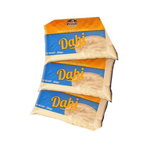 Milky Fresh  Dahi / Curd (Pouches), 200 g Pack of 10