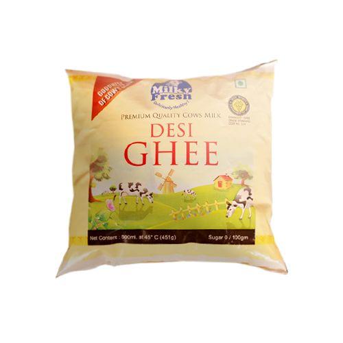 Milky Fresh  Ghee Pouch, 500 ml